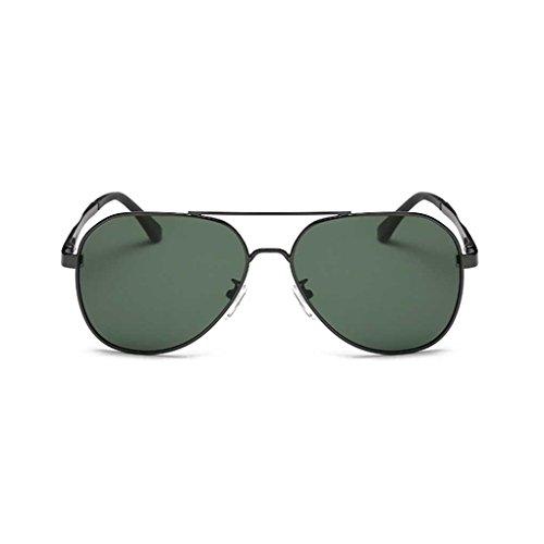 lunettes 4 Metal cool conduite Lunettes Hommes de Coolsir polarisantes Mengonee Lunettes soleil de classiques Fashion Frame lunettes Pilot qwICgCvTx