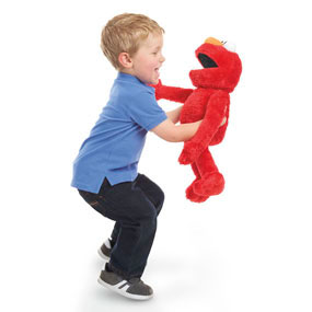 Elmo hugs back and so much more!
