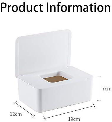 Rose TONGXU Distributeur de Lingettes Humides pour B/éb/é Bo/îte /à mouchoirs en Papier de Style Japonais PP Bo/îte dextraction de Serviettes Humides Multifonctionnelle