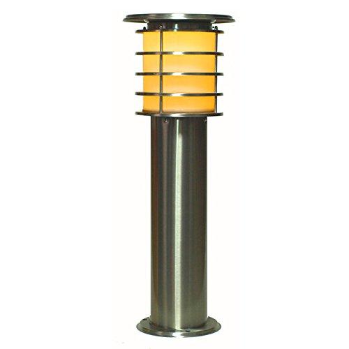 システック LED ソーラーポールライト 60cmタイプ 電球色 SPL-06-OR B00U87ITEE