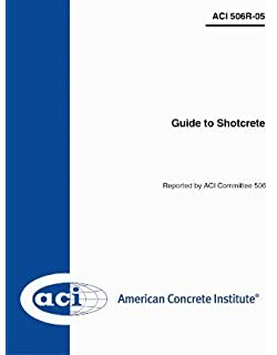506r 16 guide to shotcrete american concrete institute aci 506r 16 guide to shotcrete american concrete institute aci 9781942727958 amazon books fandeluxe Choice Image