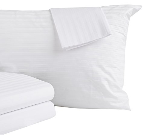 Home-Fashion-Designs-500-Thread-Count-100-Cotton-Allergy-Standard-Pillow-Protectors-4-Pack-White-20-x-26