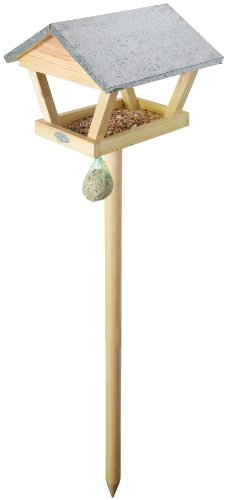 Esschert Design USA FB72 Wooden Mini Bird Feeding Table