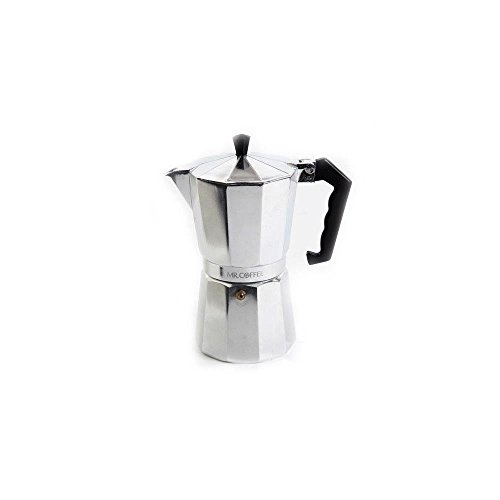 Mr. Coffee 6-Cup Traditional Stove Top Espresso Maker (Best Affordable Espresso Machine)