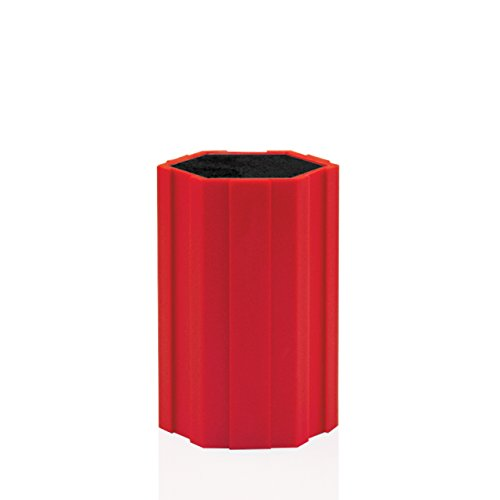 niversal Knife Caddy- 5 Inch Cherry Red (Kapoosh Knife Holder)
