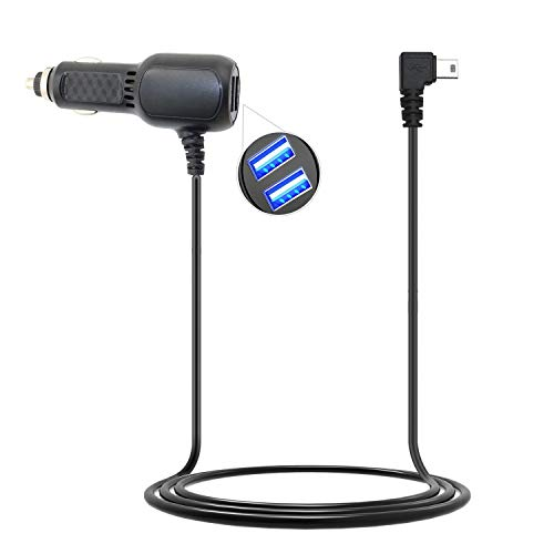 Vehicle Power Adapter Car Charger Cable for Magellan RoadMate 1430 1440 1470 GPS