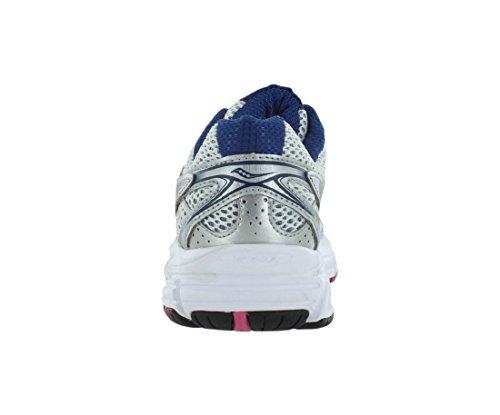 Saucony Grid Cohesion zapatos de correr para mujeres Plateado