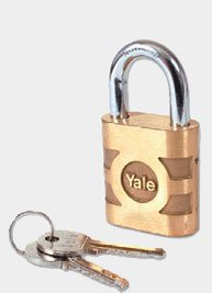 Yale Bronze Padlock HS Shackle 41mm by Yale