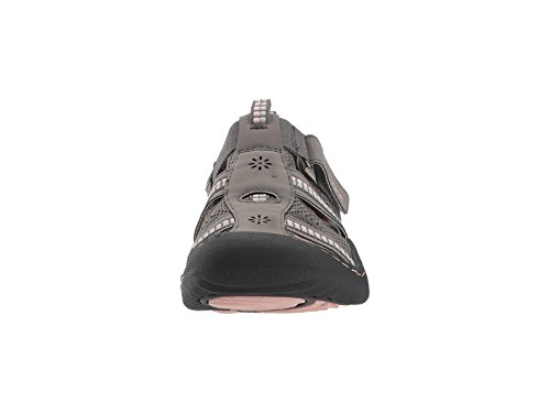 cheap low shipping outlet fast delivery JSport by Jambu Women's Regatta Flat Dark Grey/Peony free shipping 2014 new kiaRYzXnv
