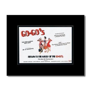 Music Ad World GO-GOS - Return to the Valley of the Go-Gos Mini Poster - 21x13.5cm