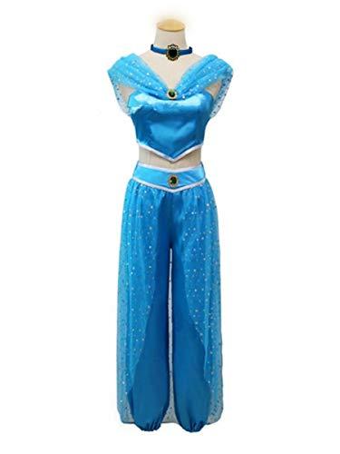0524c1aae78fb TACO(タコ) ハロウィン 仮装 ジャスミン プリンセス ドレス イベント コスチューム コスプレ 衣装 大人 子供 レディース