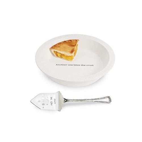 (Mud Pie Thanksgiving Circa Pie Plate with Server Set of 2)