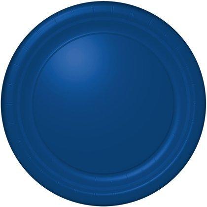 hallmark-royal-blue-dinner-plates-24-count