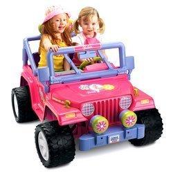 power wheels barbie jammin jeep