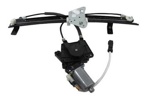 TYC 660177 Dodge Durango Front Passenger Side Replacement Power Window Regulator Assembly with Motor