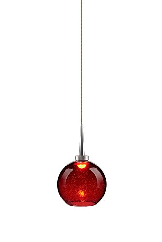 Bruck Lighting 223917mc/MP - Bobo 1 LED Pendant with 4