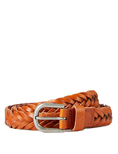 Marchio Amazon – find. Cintura Intrecciata in Pelle Uomo