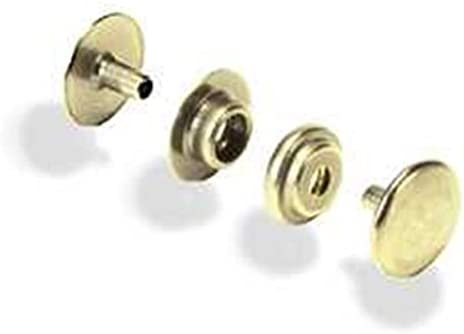 Line 20 Snaps Brass Plated 10//pk Item #1261-01
