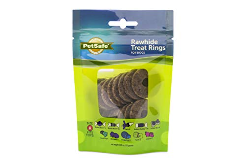 PetSafe Rawhide Treat Ring Refills, Original Rawhide,