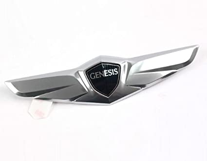 Hyundai Motors Genuine 86330B1000 Rear Trunk Lid Tail Gate Wing Emblem 1 Pc  For 2015