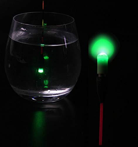 gr/ün HATCHMATIC 2Pcs Set Light Stick mit CR311 Batterie Light Sticks Rot//Gr/ün leuchtenden Angelschwimmer Zubeh/ör A53