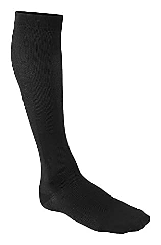Futuro Men's Restoring Dress Socks, Black , Firm - Large