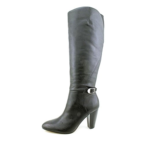 Marc Fisher Shayna, Fashion Stiefel Frauen, Pumps rund, Leder Black