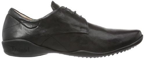 Think Stone 83612 - Zapatos de cuero para hombre, color marrón, talla 40 EU (6.5 Herren UK) Negro (Schwarz (SCHWARZ-00))