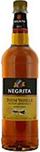 Ron Extracto de Negrita Vainilla 40 ° 1L - 1 litre: Amazon.es ...