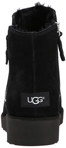 Shala Boots Suede Womens Australia UGG Noir Yz4Sff