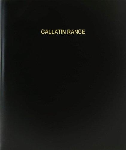 BookFactory Gallatin Range Log Book / Journal / Logbook - 120 Page, 8.5