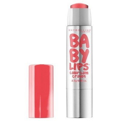 Maybelline Baby Lips Color Balm Crayon 10 Blush Burst- 0.09o