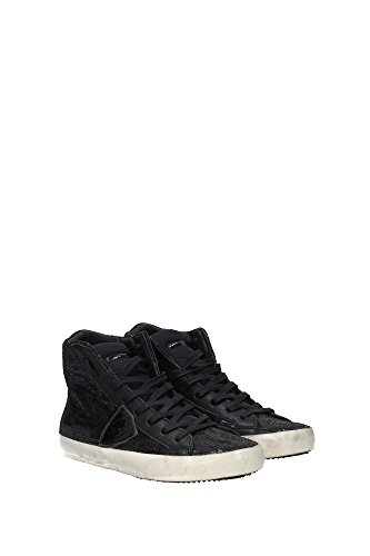 CLHDLP44 Philippe Model Sneakers Mujer Lentejuelas Negro Negro