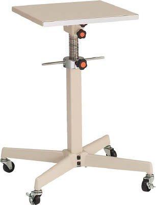 丸善 ジャッキアップ式補助デスク スチール製テーブル 移動式【TRS600S1】 (販売単位:1台) B00J6ZB1GM