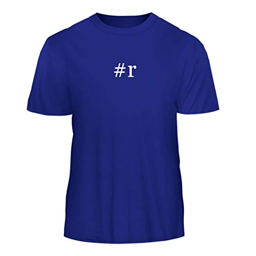 Tracy Gifts #r - Hashtag Nice Men's Short Sleeve T-Shirt, Blue, Small