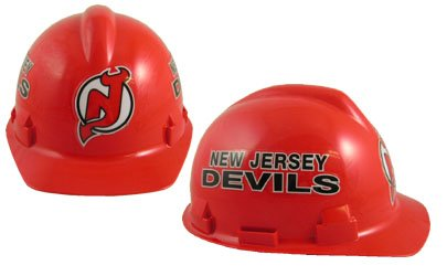 WinCraft NHL 2410111 New Jersey Devils Packaged Hard Hat 1