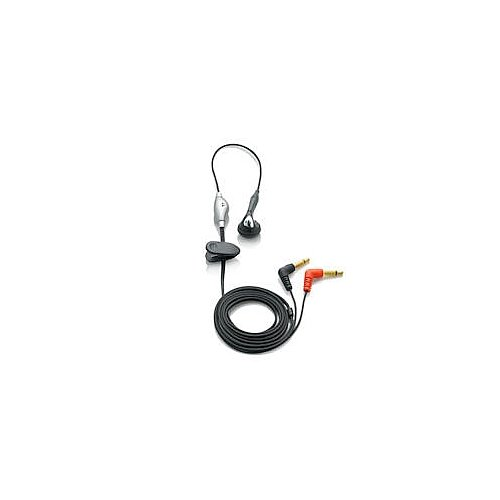Philips Microphone Earphone - Philips 0331 Microphone Earphone Combination for Digital Voice Tracers (LFH0331)