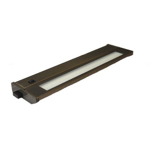 American Lighting 043T-22-DB Hardwire Fluorescent Under Cabinet Lighting, 13-Watt Lamp with On/Off Switch, 120-Volt, Dark Bronze, (American Lighting Under Cabinet)