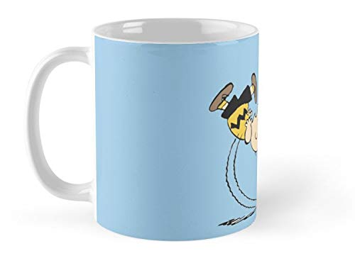 Charlie Brown And Lucy Football Mug - 11oz Mug - The best gift for family and friends.