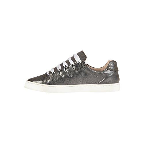 Tedish Sneakers Dames Wandelschoenen Meisje Leder Comfortabele Ongedwongen Lace-up Flats Td004 Orabelle Argile Argile