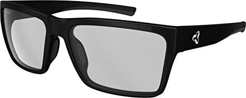 Ryders Eyewear Nelson Anti-Fog Sunglasses (BLACK MATTE / CLEAR LENS - Glass Nelson