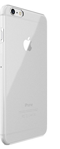 Just Mobile TENC Self-Healing Ultra-Slim Transparent Case for iPhone 6s Plus 6 Plus - Retail Packaging - Clear
