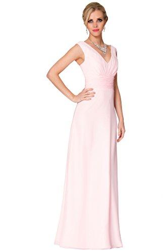 SEXYHER A-ligne Princesse Col V Bridesmaids Soir¨¦e formelle Robe -EDJ1659