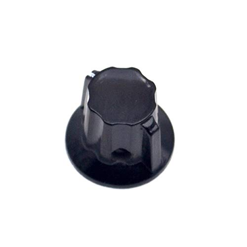 Isali Electronic - Bakelite knob Potentiometer knob WH5-1A hat hat WXD3-13 Small Aperture 4MM K18-01 hat (Hat Bakelite)