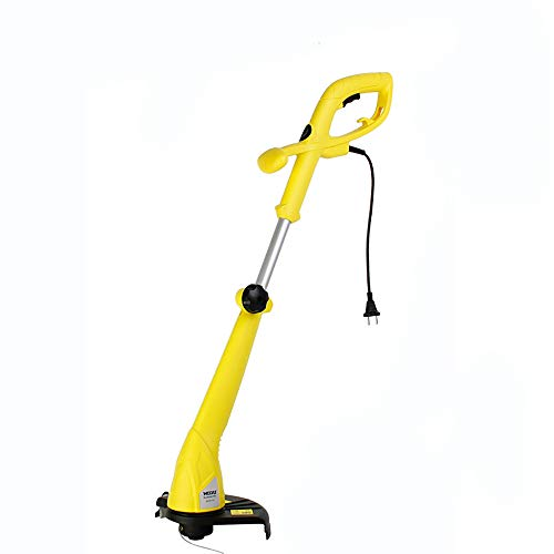 Electric Grass Trimmer Garden Tool Adjustable Second Handle, 400W, 25cm Cutting Diameter, Automatic Double Line Feed, Vertical Edge-Cutting Angle ()