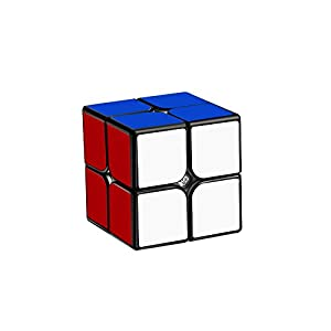 ADSM Magic Cube, Rubik's Cube, Tweak Cube, Stickerless Magic Cube Set of 2x2x2 3x3x3 Pyramid Frosted Puzzle Cube