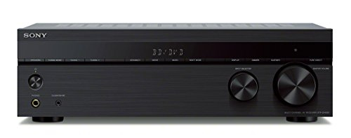 Sony STRDH590 5.2 multi-channel 4k HDR AV Receiver with Bluetooth - Black