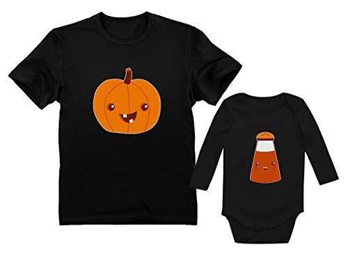 Dad & Baby Pumpkin Spice Matching Halloween Set