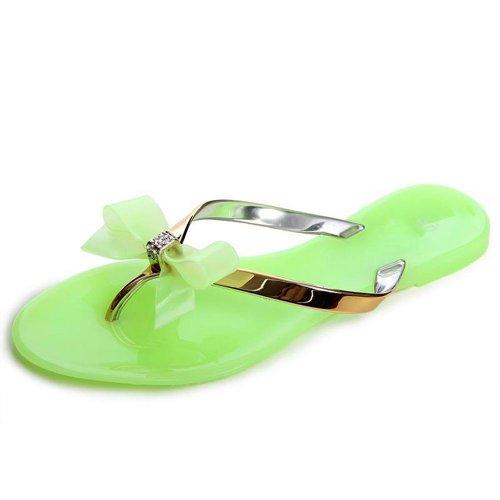 vestir verde verde mujer de otros para topschuhe24 de Sandalias AxEqwF1