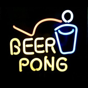 Neonetics Business Signs Beer Pong Neon Sign Sculpture